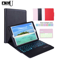 Luxury Keyboard Case for iPad 9.7 2017 2018 for iPad 5 6 Pro 9.7 Removable Bluetooth Keyboard Cover for iPad Air 1 2 Stand Shell