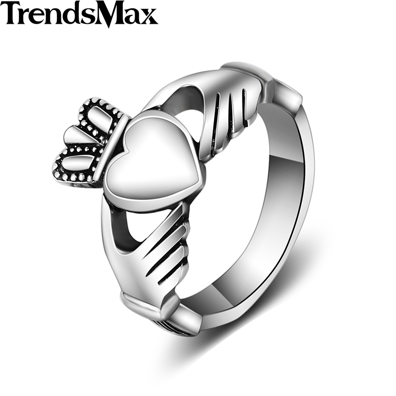 Trendsmax Love Ring Mens Womenss
