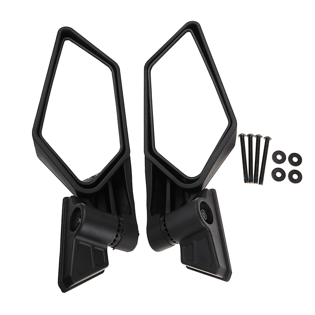 1 Set ABS Plastic Universal 8.35″ Motocross ATV Side Mirror For Can Am Maverick X3/X3 R/X3 Max R Etc Adjustable Convex Mirror-in ATV Parts & Accessories from Automobiles & Motorcycles