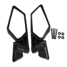 купить 1 Set ABS Plastic Universal 8.35″ Motocross ATV Side Mirror For Can-Am Maverick X3/X3 R/X3 Max R Etc Adjustable Convex Mirror дешево