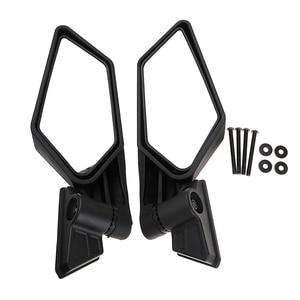 Image 1 - 1 Set ABS Plastic Universal 8.35″ Motocross ATV Side Mirror For Can Am Maverick X3/X3 R/X3 Max R Etc Adjustable Convex Mirror