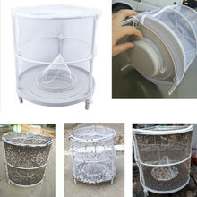 Convenient Solid Reusable Folding Fly Trap Catcher Mosquito Killer Cage Net Pest Placed Bag
