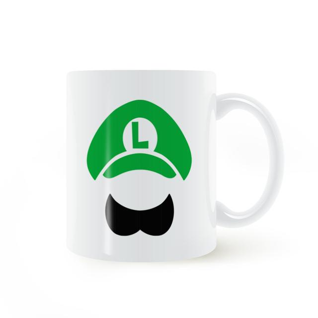 Luigi Coffee Mugs
