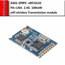 100mW AS01-SPIPX nRF24L01 wireless PA+LNA 2.4g wifi wireless Transmission module