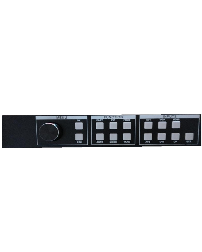2048*1152 HDMI 1.3a With HDCP HD 1080p Input 2 LED Transmission Cards Dvi/Vga/Output Lightall Fvp605 Led Display Video Processor
