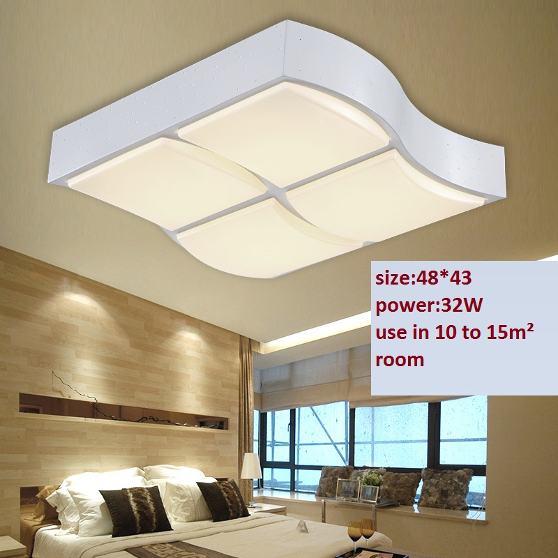 2015 new led ceiling lights 32w modern design bedroom lamps for livingroom ceiling lighting 85. Black Bedroom Furniture Sets. Home Design Ideas