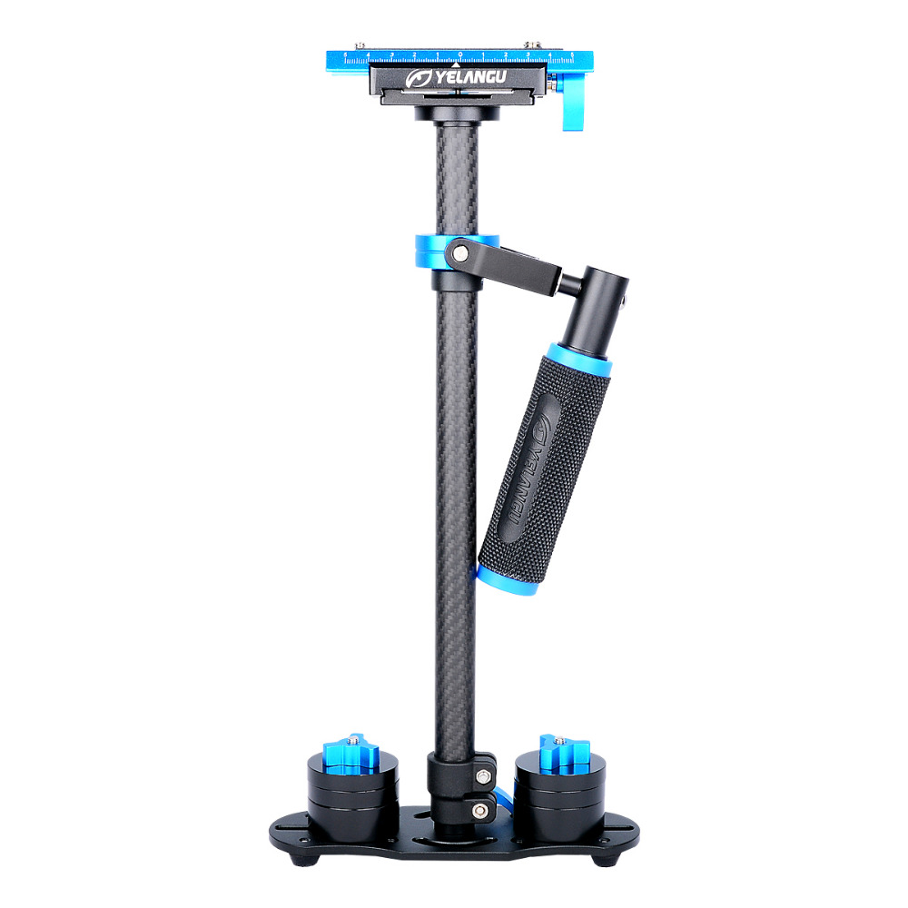 DHL 60cm Professional Handheld Stabilizer Carbon Fiber Steadicam for Camcorder Digital Camera Video Canon Nikon Sony