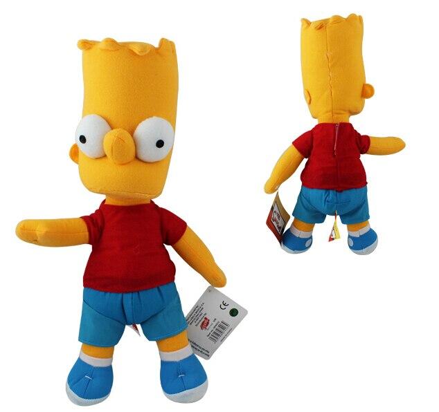 Симпсоны Барт сын 36 см плюшевые куклы игрушки для маленьких детей для мальчиков одна часть