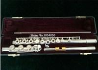 Genuine New Flute YFL 471 Music Instrument 17 Hole E Key Open B Music C Primary