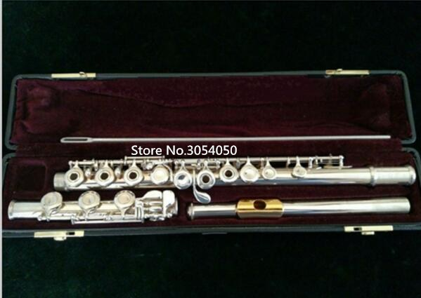 Genuine new flute YFL 471H Music instrument 17 hole E key open music C primary flute Gold plated With Mouthpiece performance