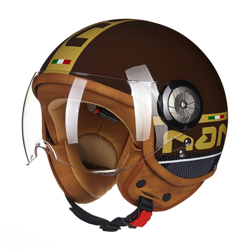 Новый ЕЭК мотоцикл чоппер шлем 3/4 открытым лицом старинные шлем 110TM Мото шлем КАСКО шлемы мотоциклиста лошади унисекс