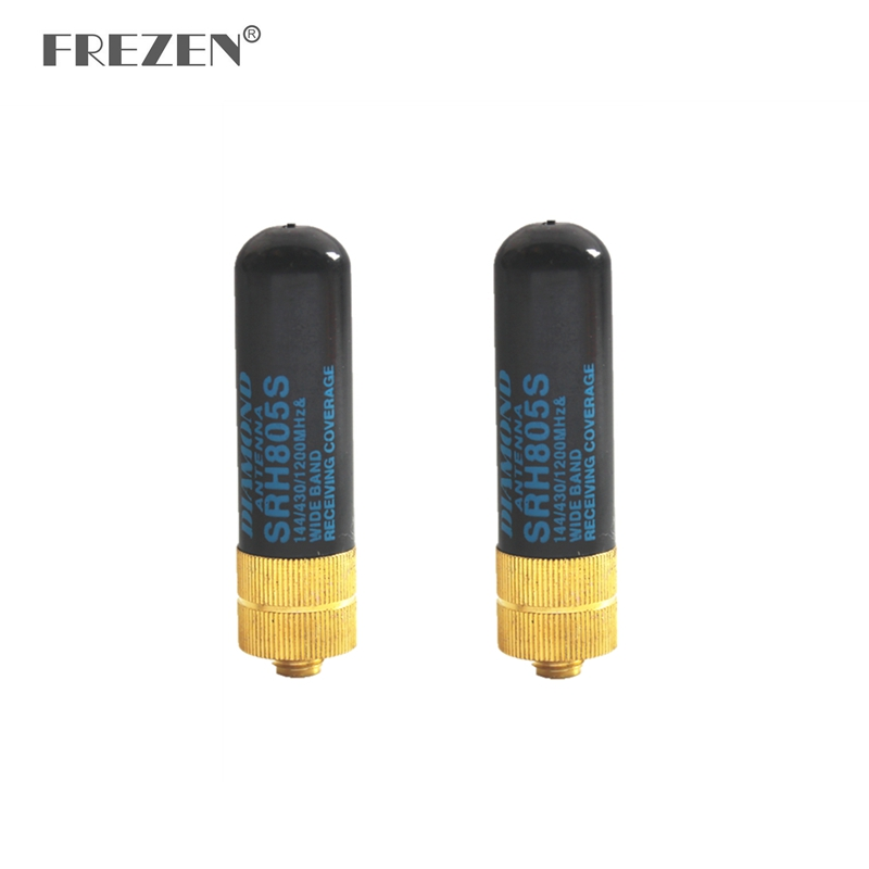 2-PCS SRH805S 5CM Short Antenna SMA-Female VHF UHF For BAOFENG UV-5R BF-888S For Kenwood Two Way Radio Walkie Talkie Accessories