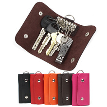 Fashion gifts font b Keys b font holder Organizer Manager patent leather Buckle font b key