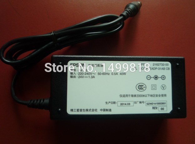 где купить Free shipping New Original ADAPTER POWER for Epson GT-X820 X900 X970 X770 GT-D1000 SCANNER AC POWER по лучшей цене