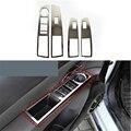 Estilo del coche Para Chevrolet CRUZE 2009 2010 2011 2012 2013 2014 Dentro de La Puerta Manija Titular Envolvente Interior Interruptor de la Ventana de Ajuste 4 unids