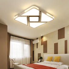 220V 110V Led Ceiling Lights Surface Mouse Dimmable Iron Square Bedroom Lamps Modern Room For Home