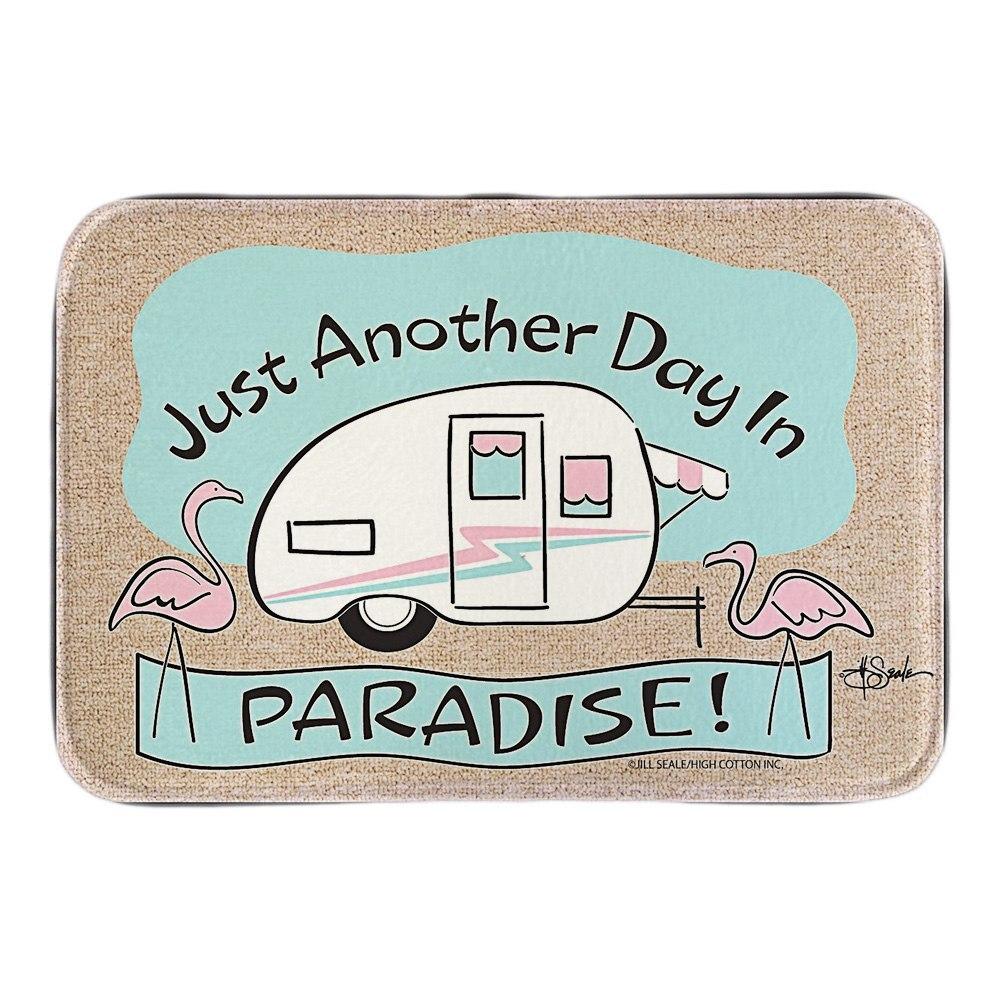 Hohe Baumwolle Paradise Flamingo Tür Matte Niedlichen Cartoom Hallenbad  Außen Soft Leichtigkeit Fußmatten Kurze Plüsch Bad Matten