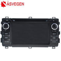 Asvegen Car Android Multimedia Radio CD DVD Player GPS Navi Map Navigation Audio Video Stereo System For Toyota Auris 2013
