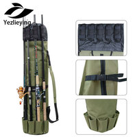 Camping backpack Fishing Rod Bag Case Fishing Portable Multifunction Nylon Fishing Bags Fishing Tackle Tools Storage Bag