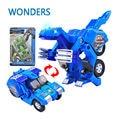 Динозавр Преобразование Пластиковый Робот автомобилей Фигурку боевая машина с звук и свет Игрушка Модель Подарки Для Мальчика & дети