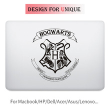 Harry Magic School Badge Laptop Decal for font b Apple b font font b Macbook b