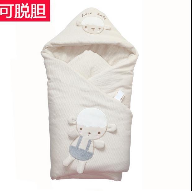 2015 quente Do Bebê Receber Cobertores Inverno Macio E Confortável Do Bebê Saco de Dormir Qualidade Assegurada Mãe Assegurada
