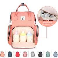 New Upgraded Fashion Mummy Maternity Nappy Bag Large Capacity Baby Bag Travel Backpack Designer Nursing Bag