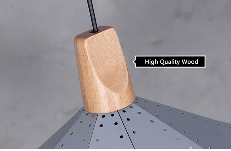 Nordic Loft Industrail Laser Cutting Home Pendant Lamps Lighting Modern Scandinavian Design Wood Hanging Light For Living Room8