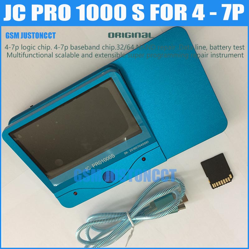 New Original JC Pro1000S Host Multi-Functional Programmer NAND PCIE Programmer For IPhone IPad Battery Test Tools