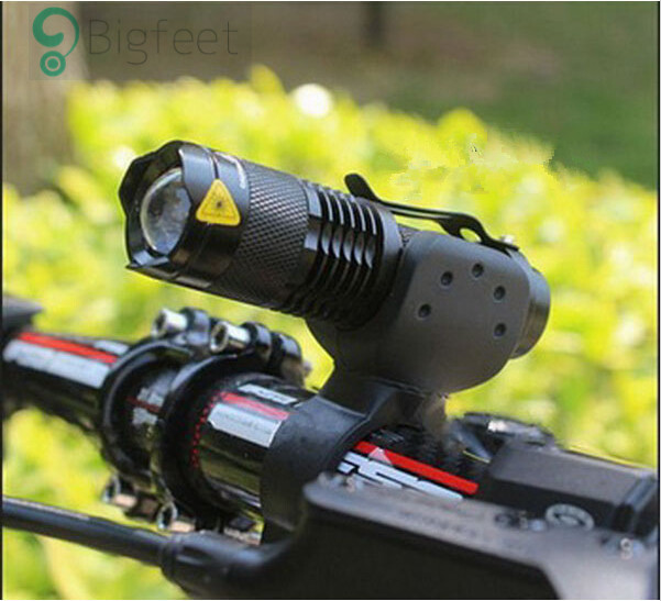 Bicycle light 7 watt 2000 lumens 3 mode bike q5 led cycling front light bike lights