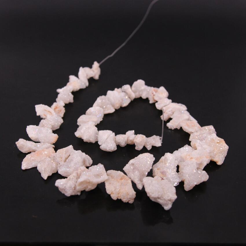 Superb Quality Natural Pink Agate Druzy Rough Beads Size-21x17mm To 31x24mm Jewelry making wholesaler price