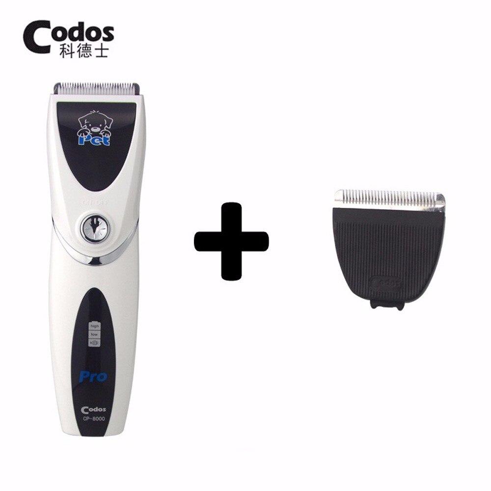 Professional Codos CP8000 Dog Hair Trimmer With Sharp Edge Haircut Ceramic Blades font b Pet b