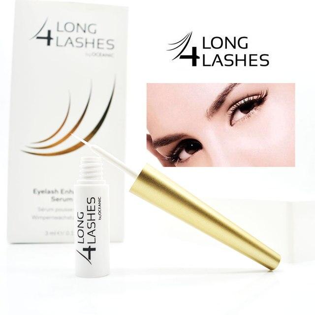 LONG 4 LASHES Eyelash growth treatments eyelash extention curler  growth serum ENHANCING GROWTH STIMULATING SERUM OCEANIC 3ml