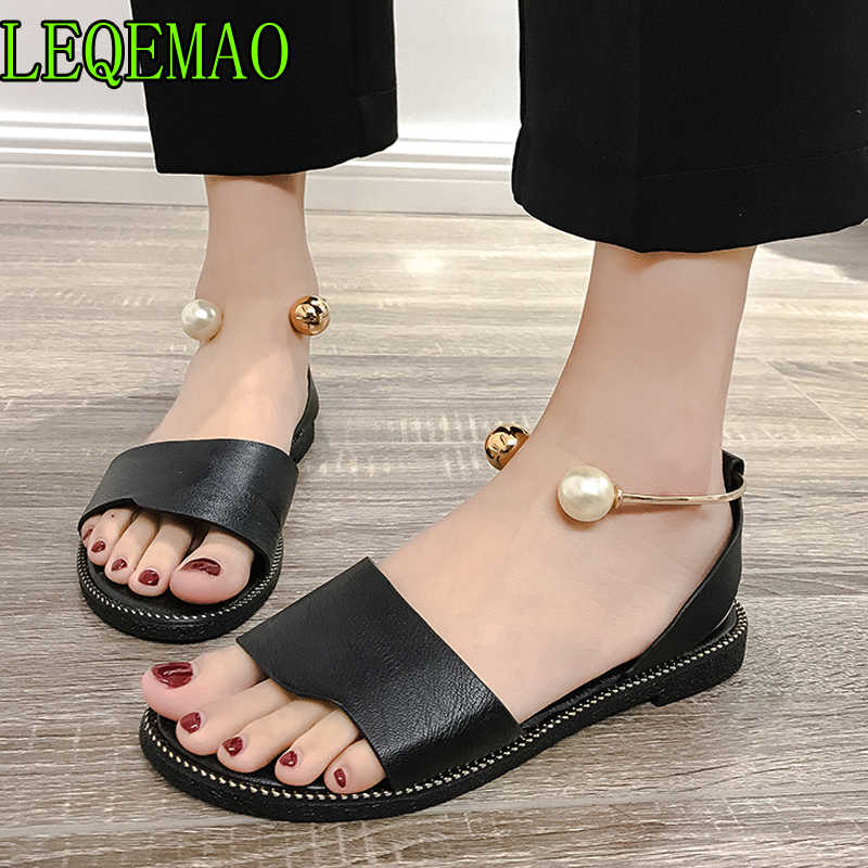 e996aabc3f5 Women Sandals Flip Flops 2019 New Summer Fashion Rome Slip-On Breathable Non -slip