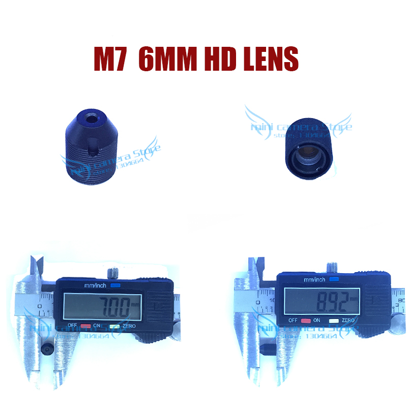 HD mini camera M7- 6MM Pinhole lens for video surveillance camera CCD/CMOS/IPC/AHD IP Cctv Camera DIY Module Free shipping gotake mini security camera cctv ahd 1080p 3 7mm pinhole lens 1 3 ccd wired surveillance analog video bullet type with stand