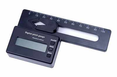 Digital Pitch Gauge voor 250 ~ 800 blades Flybarless Helicopter RC Tool