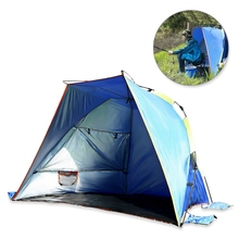 Automatic Instant Setup 3 – 4 Person Outdoor Beach Tent Shelter Summer UV Protecting Sports Sunshade Camping Fishing Picnic Tent