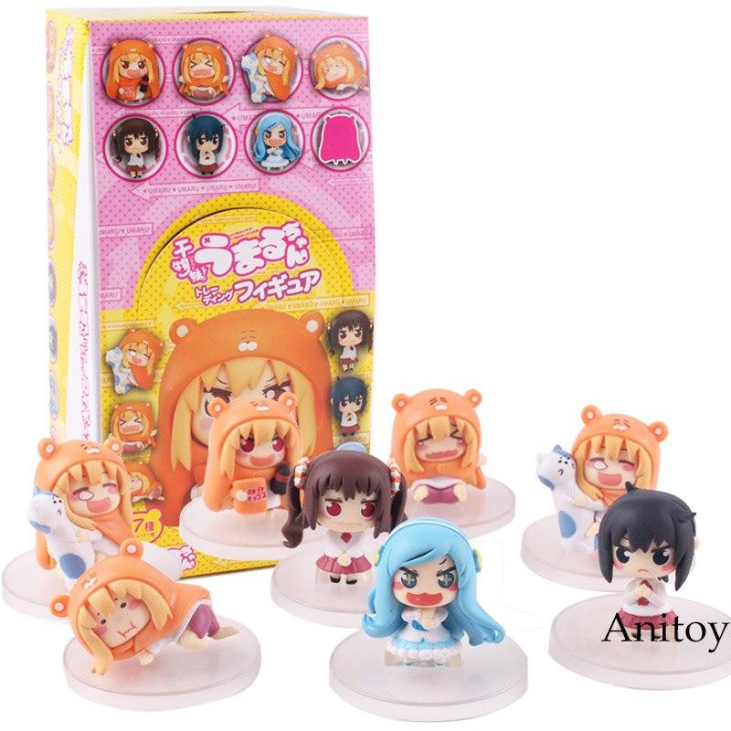 Image 2 - Himouto Umaru chan himouto umaru chan figure doma umaru doll PVC Action Figure Set Collectible Modle ToysAction & Toy Figures   -