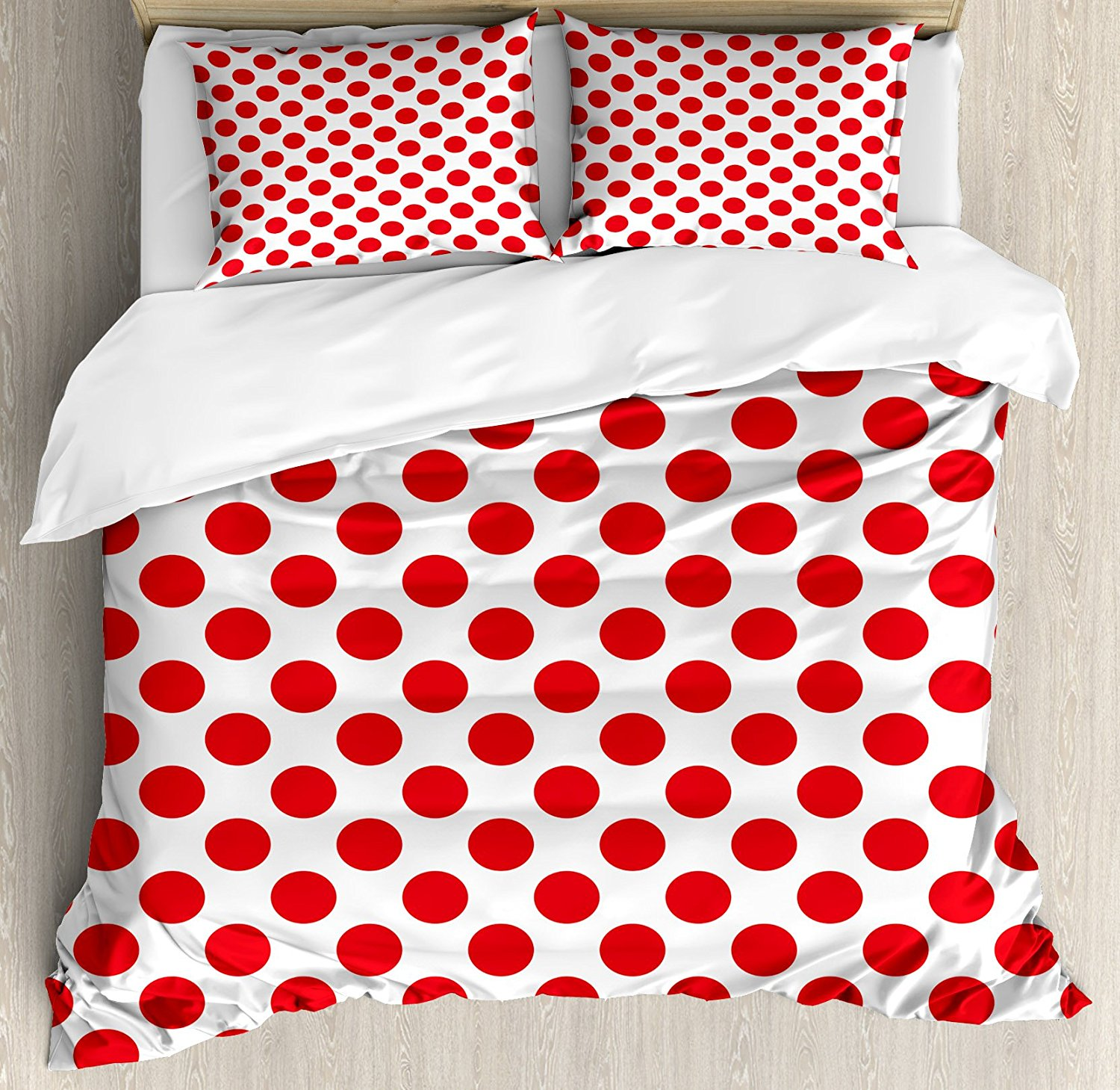 pattern polka piece and geometric curved home stripes sets from bedding retro with dots item set in duvet rhombuses design cover colorful scales