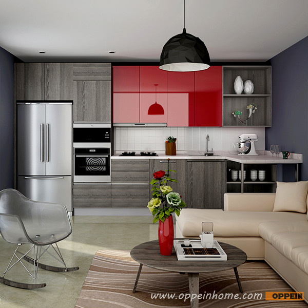 Buy Express Modular Kitchen Cabinets In High Gloss Finish: Popular Lacquer Kitchen Cabinet-Buy Cheap Lacquer Kitchen
