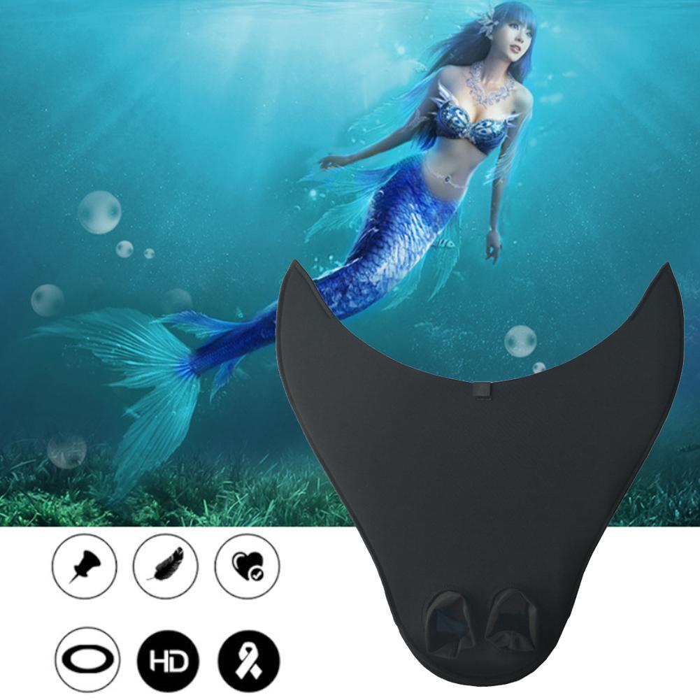 Kids Adult Swimming Fins Training Flipper Mermaid Swim Fin Swimming Foot Flipper Diving Feet Tail Children