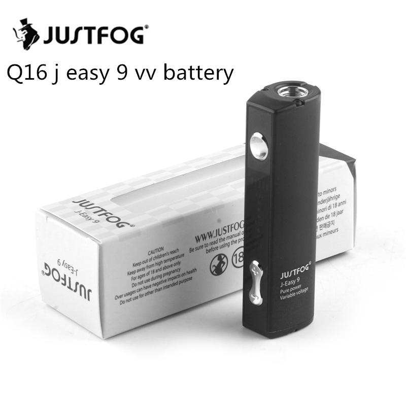 10pcs lot Original JUSTFOG Q16 Battery 900mah Capacity Q16 j easy 9 vv Battery for JUSTFOG