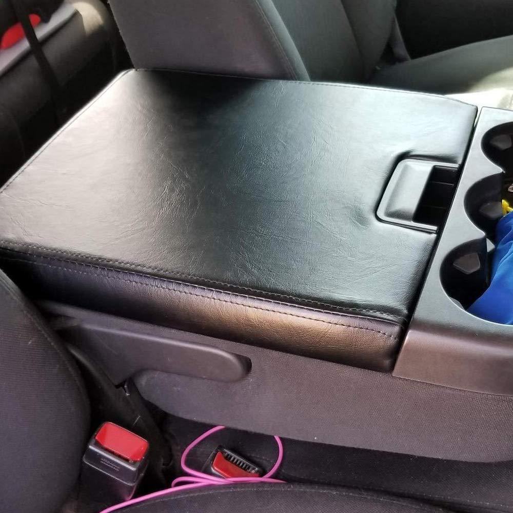 GM Console centrale couvercle accoudoir housse Kit pour 07-13 Chevy Avalanche banlieue Tahoe GMC Yukon XL/08-14 Chevrolet Silverado - 6