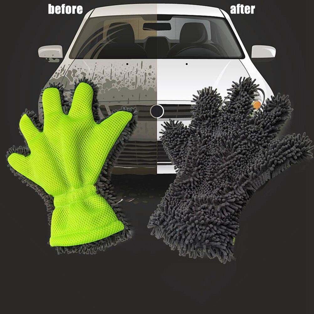5 Finger Waschhandschuh Premium Autoschwamm Auto Waschhandschuh Zur Schonenden Lackreinigung Und Auto Waschen Spargut Innovative Produkte Zu Top Preisen