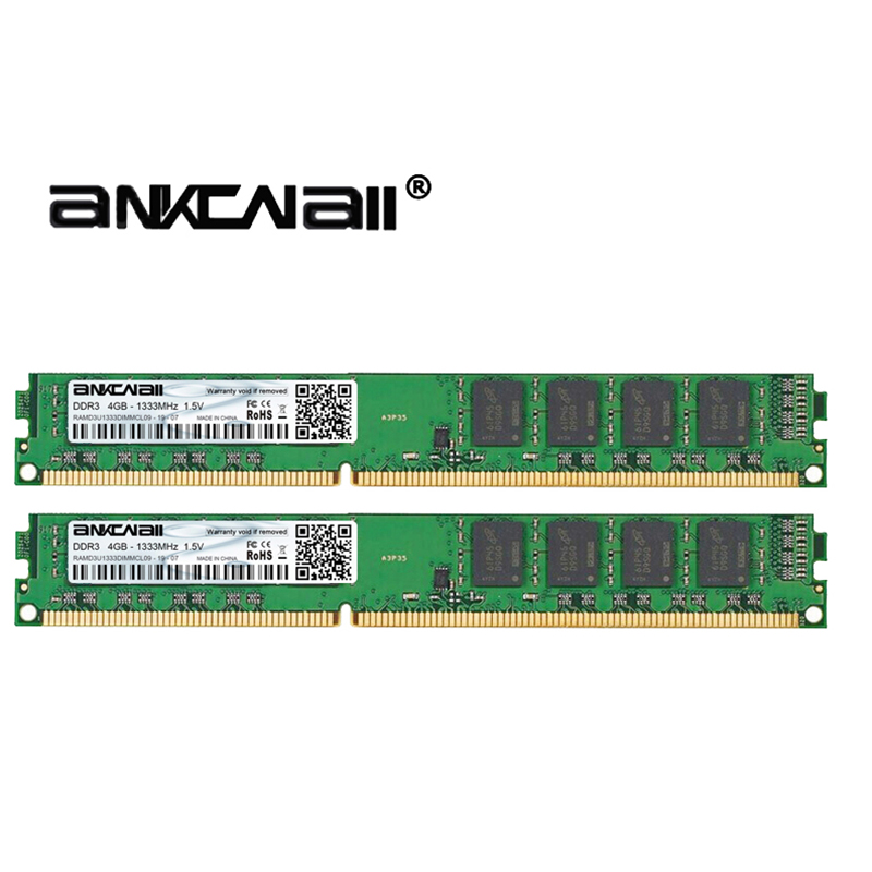 DIMM DDR3 1333/1600MHZ 4GB PC3-10600/12800 For Intel Desktop Memory 3