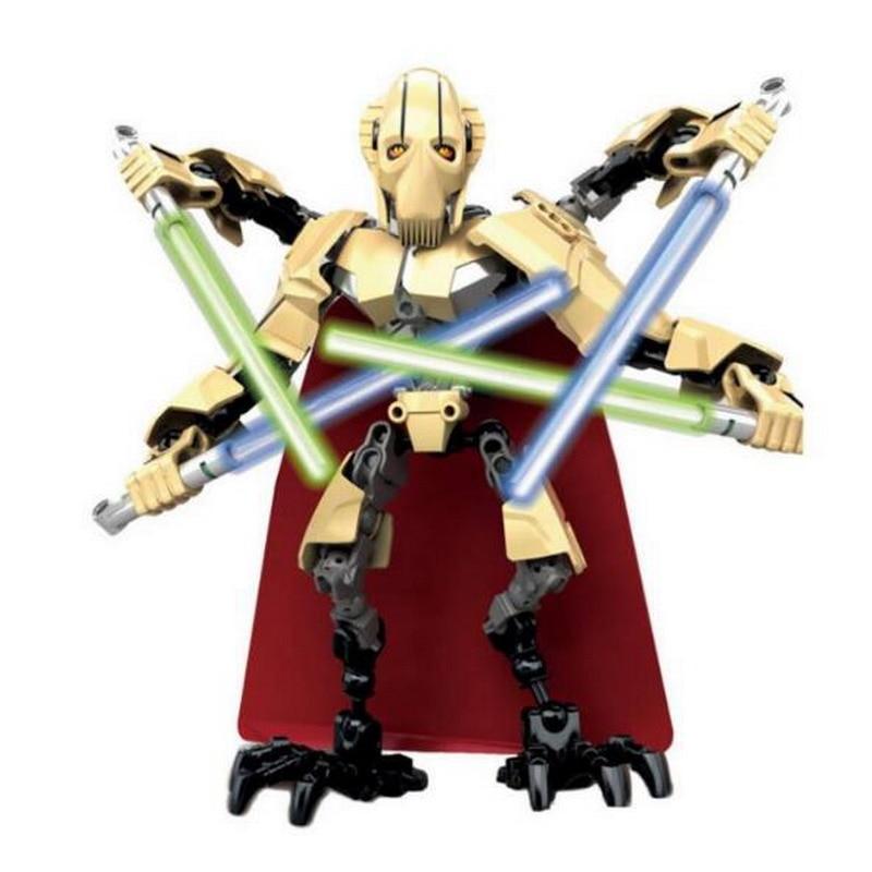 Pcs New Legoing 66 Príncipe dos Demônios Figura Robô de Star Wars com Arma Bricks Blocos Crianças Brinquedos para os Presentes dos meninos