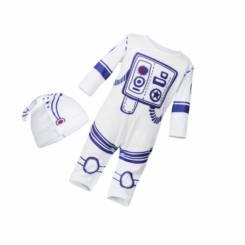 New Baby Newborn clothes Baby Romper Autumn Winter Astronaut Long Sleeves Cotton Baby Boy girl Clothes Overalls infant jumpsuit