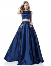 Two-piece dress womens summer suit pink navy blue strapless 2 PCS party club solid color sexy midi