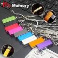 New Fashion mini usb memory stick 4/8/16/32/64gb usb flash drive tiny metal necklace u disk pendrive usb 2.0 pen drive for gift