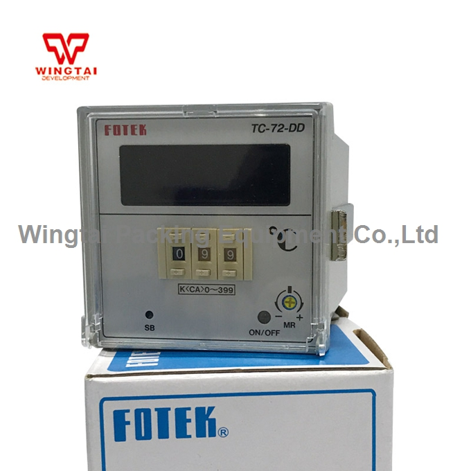 FOTEK TC72-DD-R3 Intellegent Digital FUZZY PID Temperature Controller 90~265VAC/50/60Hz fotek fuzzy pid microcomputer control temperature controller mt 96r